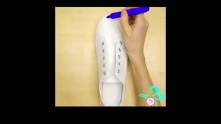 آموزش نقاشی کفشی