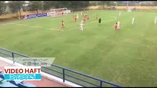 آتش بازی دختران فوتبالیست ایران