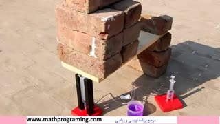 ساخت جک هیدرولیک قدرتمند با چند تا سرنگ!!!
