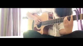K.A.R.D - ♧Don't  Recall♧ Guitar cover (کاور آهنگ دونت ریکال با گیتار)فوق العاده قشنگه ♡×♡ تقدیمی نوتلای کیوتم