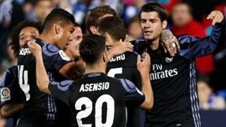 خلاصه بازی :  لگانس  2 - 4  رئال مادرید