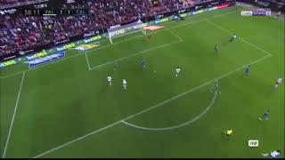 خلاصه بازی :  والنسیا  3 - 2  سلتاویگو