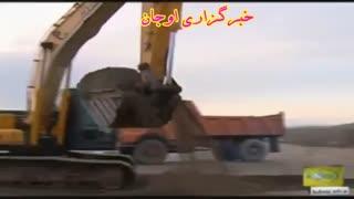 گزارش تلویزیونی کلنگ زنی ایستگاه قطار در بستان آباد باحضور وزیر راه وشهرسازی