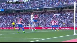 خلاصه بازی : رئالمادرید  1 - 1   اتلتیکومادرید