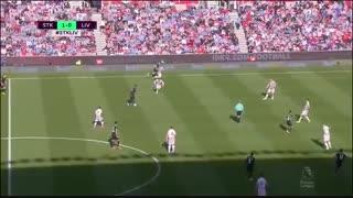خلاصه بازی :  استوکسیتی 1 - 2  لیورپول