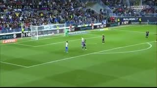 خلاصه بازی :  مالاگا  2 - 0  بارسلونا