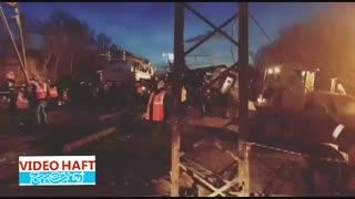 تصادف دو قطار در روسیه