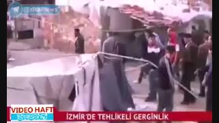 حمله به پناهجویان سوری در ترکیه