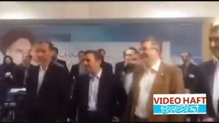 احمدی نژاد نامزد ریاست جمهوری شد