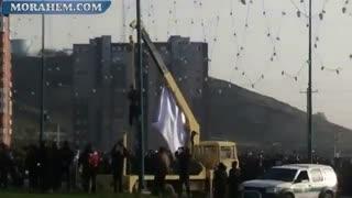 فیلم  اعدام عباس صحرایی قاتل اراکی در ملاعام