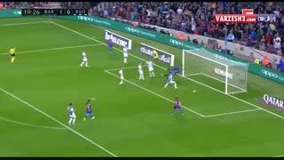 خلاصه بازی بارسلونا و رئال سوسیداد 26 فروردین 96