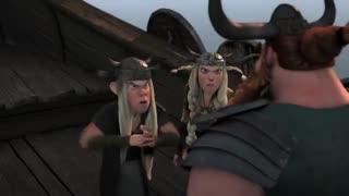 انیمیشن اژدها سواران قسمت ششم