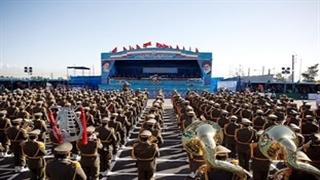 رژه مقتدرانه یگانهای ارتش جمهوری اسلامی ایران