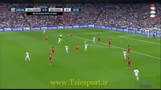 رئال مادرید 4 - بایرن مونیخ 2؛ غوغای رونالدو در برنابئو