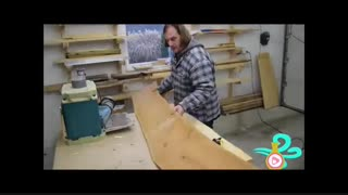 آموزش ساخت زیر پایی چوبی