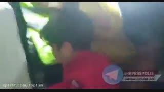 گریه های هانی نوروزی در جشن قهرمانی پرسپولیس