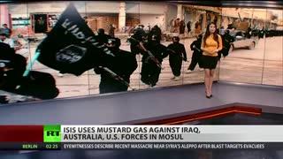 قصد داعش به حمله شیمیایی به نیروهای عراقی و آمریکایی
