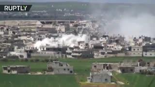 ارتش عربی سوریه حما را به صورت کامل بعد یک سال پس می گیرد