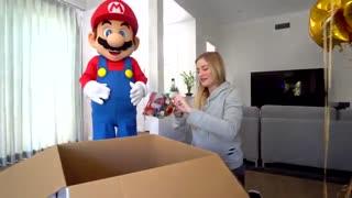 بازی کردن ماریو در حضور خود ماریو !