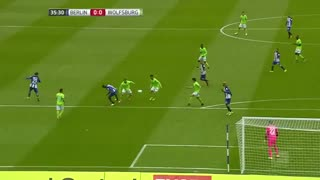خلاصه بازی : هرتابرلین 1 - 0  وولفسبورگ