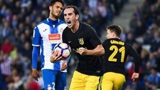 خلاصه بازی :  اسپانیول   0 - 1  اتلتیکومادرید