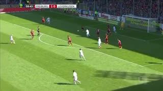 خلاصه بازی : فرایبورگ  2  - 1  بایرلورکوزن