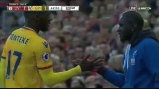 خلاصه بازی :  لیورپول  1 - 2  کریستال پالاس