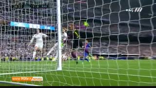 گل اول رئال مادرید به بارسلونا (کاسمیرو)