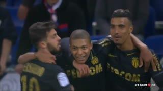 خلاصه بازی : لیون  1 - 2  موناکو