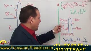 برترین استاد کنکور کشور در فرهیختگان شریف مهر | مهندس دربندی و حل تست ۲۰۸ کنکور۹۵