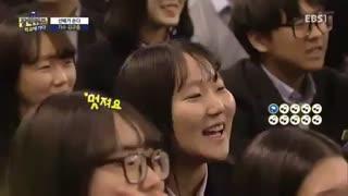 کیو جونگ در یه برنامه تلوزیونی بامزه یه دقیقه