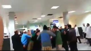 قمه کشی در اورژانس بیمارستان کرمانشاه !