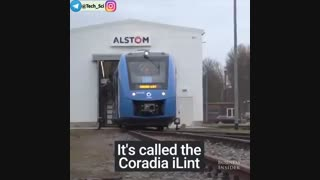 پاک ترین قطار که با تبدیل هیدروژن به انرژی الکتریکی به فعالیت خود ادامه می دهد شاید سالهای آینده شاهد ایگونه از قطار ها باشیم