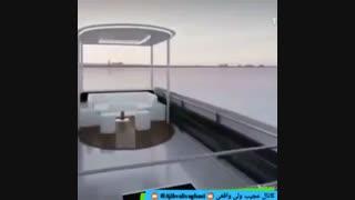 تکنولوژی فوق العاده در طراحی یک اتوبوس..!