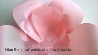 آموزش گل کاغذی 3-www.gelaree.com