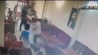 قمه کشی در قهوه خانه تهران - ترسناک!