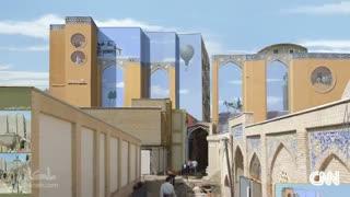 مهدی قدیانلو و نقاشیهای سورئالش بر دیوارهای تهران