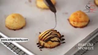 ماکارون نارگیل و شکلات تلخ (بدون گلوتن)