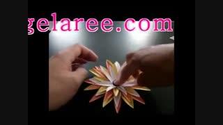 آموزش گل کاغذی6