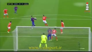 بارسلونا 7 - اوساسونا 1 ؛ در انتظار لغزش رئال مادرید
