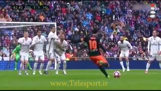 رئال مادرید 2 - والنسیا 1؛ فرار از تساوی در آخرین دقایق