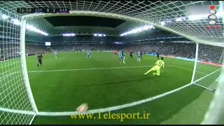 اسپانیول 0 - بارسلونا 3؛ صدرنشینی با فتح دربی کاتالونیا