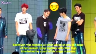 EXO Baekhyun funny and embrassing  moments
