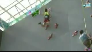 قهرمانی رضا علیپور قهرمان سنگنوردی ایران در جهان