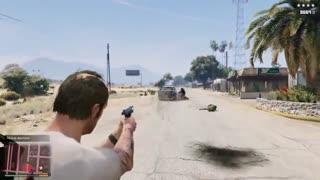 مد غیر فعال شدن نشانه در بازی GTA V