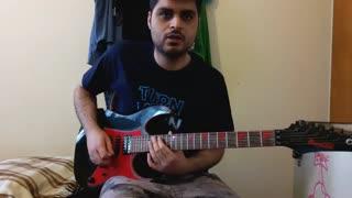 آموزش نت به نت گیتار سولوی شال از The Ways