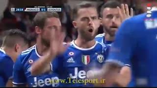 موناکو 0 - یوونتوس 2 ؛ در آستانه فینال با هیگواین!