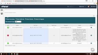 آموزش Cpanel - قسمت 37 ردگیری ایمیل ها Track Delivery