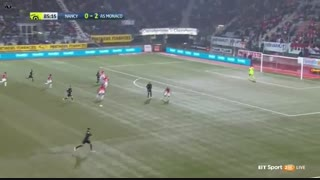 خلاصه بازی : نانسی   0  -  3  موناکو