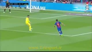 بارسلونا 4 - ویارئال 1؛ پیروزی قاطع با گلزنی MSN